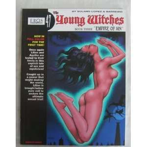 The Young Witches Book Three Empire of Sin (Eros Graphic Albums 47