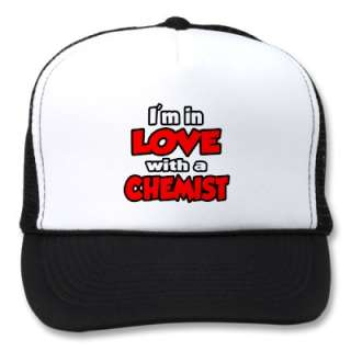 In Love With A Chemist Mesh Hats by chemistshirts