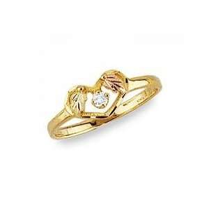 Beautiful! Yellow gold Black Hills Gold Womens Diamond