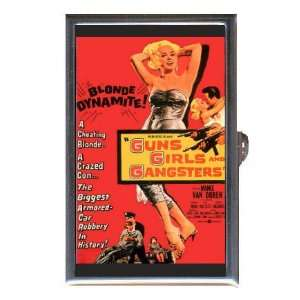 FILM NOIR GUNS GIRLS GANGSTERS Coin, Mint or Pill Box