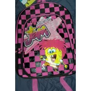 Squarepants Jellyfish Jem Pink Childrens Backpack Toys & Games