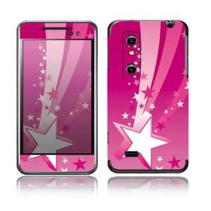Pink Stars Design Decorative Skin Cover Decal Sticker for