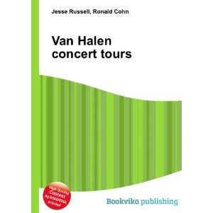 Van Halen concert tours Ronald Cohn Jesse Russell Books