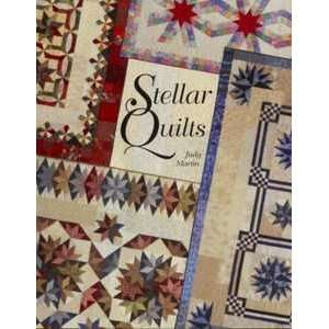 12297 BK Stellar Quilts Book by Judy Martin for Crosley