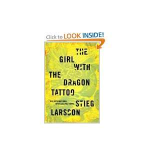 The Girl with the Dragon Tattoo Stieg Larsson Books