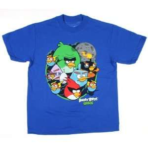 Angry Birds Space Character Group Shot Shirt Size14/16