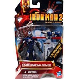 Disney Iron Man Stark Racing Armor Iron Man 2 Action