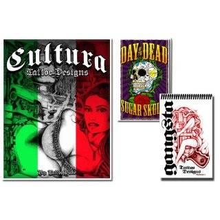 Mexican Cultura & Gangsta & Day of the Dead  Three Tattoo Books (100