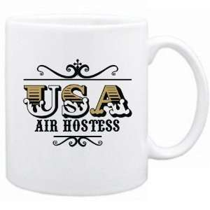 New  Usa Air Hostess   Old Style  Mug Occupations: Home