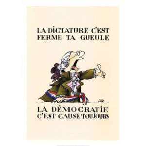 Loup French Revolution 20 x 28 Poster Print