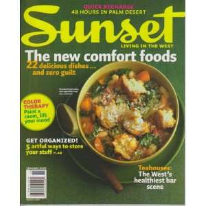 Sunset: Living in the West Magazine January 2009   New