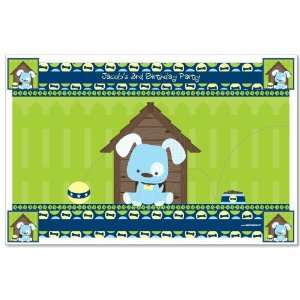Boy Puppy Dog   Personalized Birthday Party Placemats