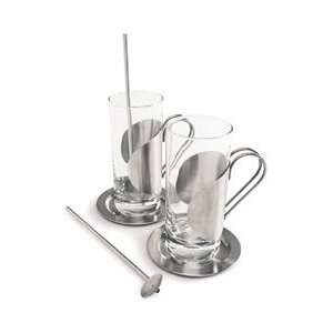 Set of 2 Irish Coffee Glasses by Cuisinox  Kitchen