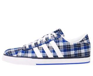 Adidas SE Daily Vulc Neo Label Blue White Gingham 2012 Mens Casual