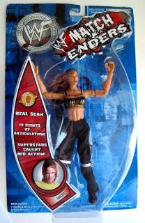 WWF Match Enders 2002 Wrestling Action Figure LITA Doll JAKKS NEW NIB