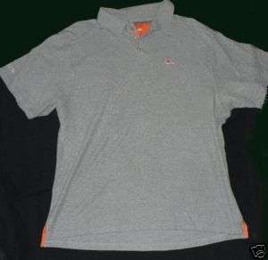 Mitchell and Ness Polo shirt mens XXL 2XL grey