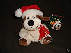Christmas Plush Dog Baxter  Exclusive W/Tags