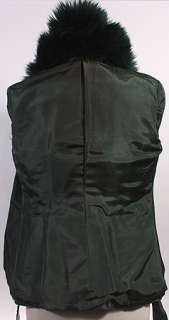 WOMENS VTG CUTE SOFT LEATHER/REAL SHEEPSKIN COAT sz M