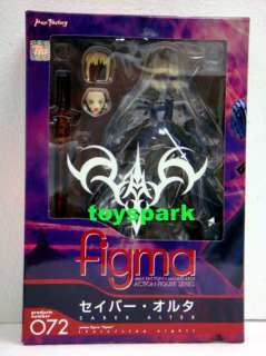 FIGMA 072 Fate Stay Night SABER ALTER BLACK figure