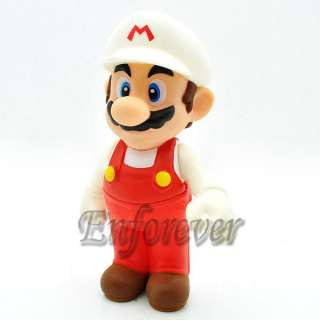 Mario Bros 4.5 MARIO Poseable Action Figure Toy^MS226