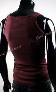 New Fashion Sexy Sleeveless Style Base Tight Shirt Vest Tank Tops For