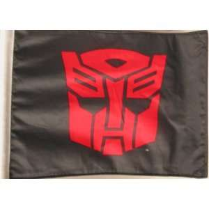 Transformers Autobot Logo Car Flag: Automotive
