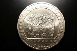 ONCES, .999 SILVER 10,000 PESO 1992 MEXICAN COIN #M002