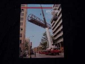 Link Belt Hydraulic HTC 11100 Truck Crane Brochure