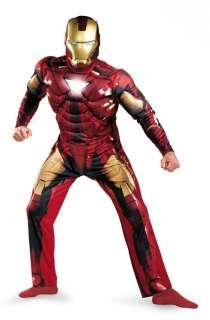 Iron Man 2 Classic Muscle Adult Halloween Costume