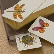Product Image. Title Hand Painted Glorious Bugs Bookmark Set (Set of