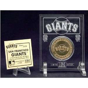 San Francisco Giants 24KT Gold Coin in Archival Etched