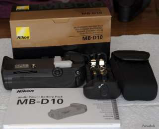 Genuine Nikon MB D10 Multi Power Battery Pack    120212