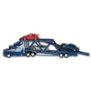 Daron Action City Car Carrier with 3 Vehicles: Toys