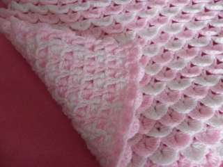 Crib blanket crochet pattern.
