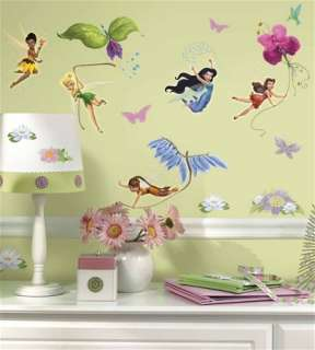 Disney Fairies Peel and Stick Wall Stickers Appliques
