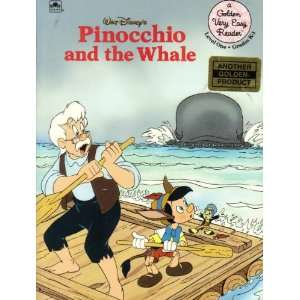 Walt Disneys Pinocchio and the Whale (A Golden Very Easy