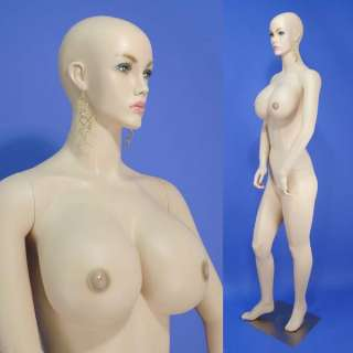 On Sales New Beautiful Busty Flesh Tone Full Size Female Mannequin