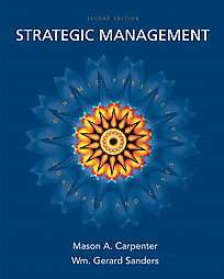Strategic Management A Dynamic Perspective by Gerry Sanders, Mason
