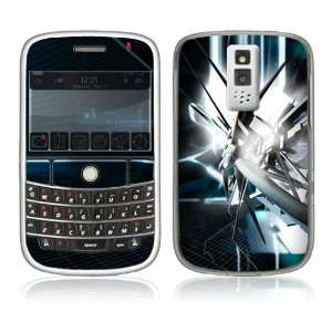 BlackBerry Bold 9000 Decal Skin   Abstract Tech City
