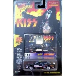 JOHNNY LIGHTNING KISS RACING DREAMS 1/64 SCALE MODEL CAR GENE SIMMONS