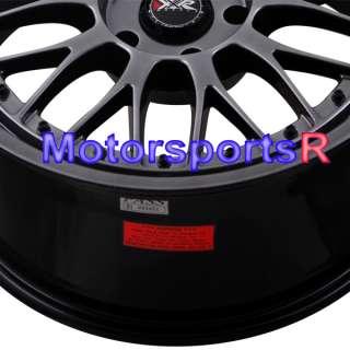 18 8.5 18x10 XXR 521 Chromium Black Rims Staggered Wheels 93 98 Toyota