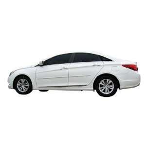 Side Moldings for 2011 2012 Hyundai Sonata (Hyper Silver Metallic FHM