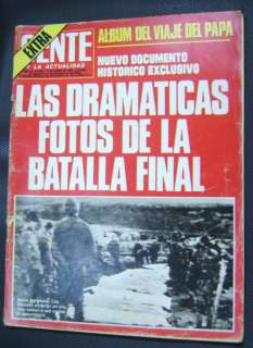 Argentina Gente Magazine Falkland Islands War Nº882 82