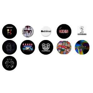 Radiohead 1 Button / Pin / Badge Set