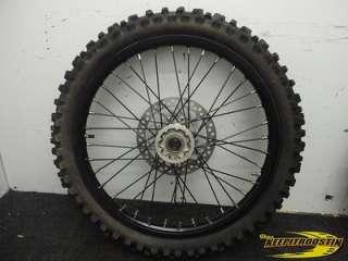 CRF CRF450 Black Wheel Set 2002 2003 2004 2005 2006 2007 2008