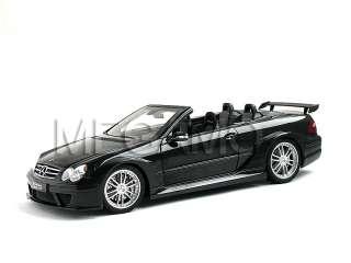 18 Kyosho Mercedes Benz CLK DTM AMG Cabriolet Black
