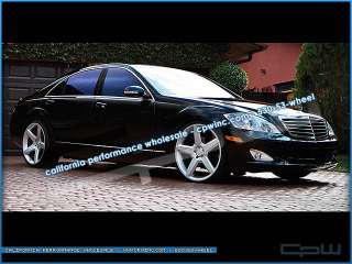 22 WHEELS RIMS FIT MERCEDES s550 s65 s63 2010 2007
