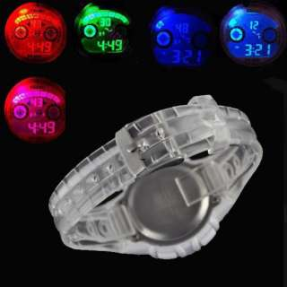 Fashion Special White band digital Lampion lights Week Women girls