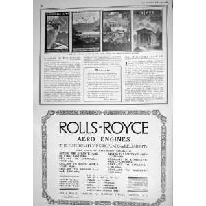 LYONS MEDITERRANEAN RAILWAY ROLLS ROYCE AERO ENGINES Home & Kitchen