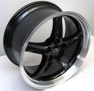 Dish Mustang ® Cobra R Wheels 18x9 &10 inch 2005   2012 18 inch Rims